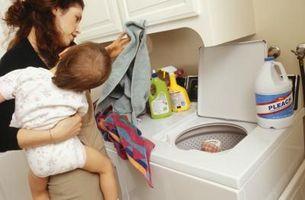 Solución blanqueador de cloro para la limpieza