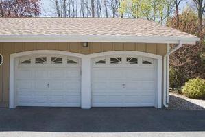 Cómo calcular una abertura en la pared puerta de garaje