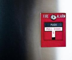 Los procedimientos de activación simulacro de incendio