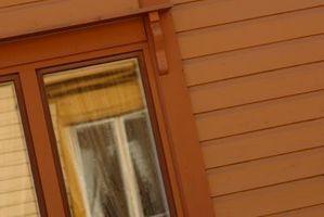 Ocultación del marco de la ventana dentro de la pared