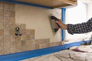 ¿Se puede poner azulejos de la pared sin un Bullnose Edge?