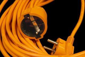 Cómo volver a la bobina correctamente un cable de extensión