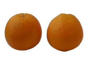 Hongo que crece en las naranjas