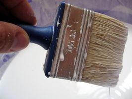 Cómo quitar la pintura de látex acrílico