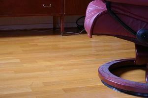 Cómo quitar manchas de orina en pisos laminados
