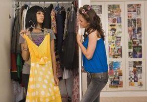 Maneras de organizar su armario para los adolescentes