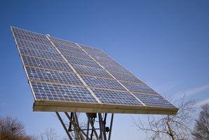 Cómo cargar los paneles solares