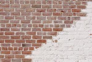 Los materiales a utilizar en una pared de ladrillo húmedo