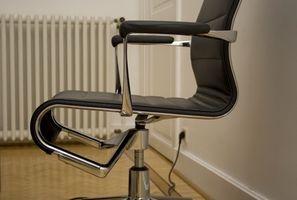 Cómo arreglar sillas de oficina ajustables