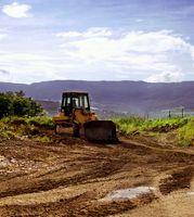 Instrucciones de uso de un bulldozer en las montañas