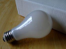 Tipos de lámparas incandescentes