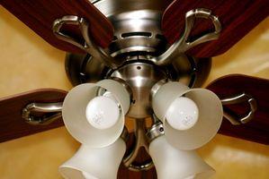 Será adecuada atenuador de luz sobre un ventilador?