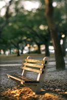 DIY Bench Wood Park