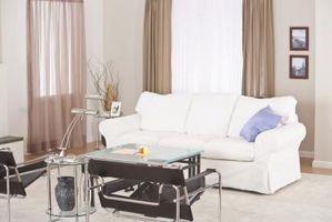 Vs. microfibra sofás de tela