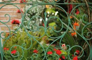 Especificaciones Puertas de jardín
