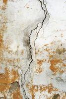 Pintura para reparar paredes de yeso con grietas Web de araña