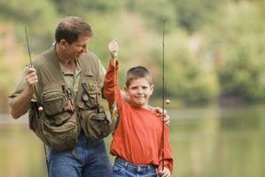 Como acciones de una de un acre estanque de peces