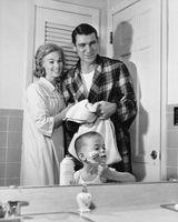 1950 Estilo de wc