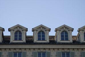 Los Tipos de construcción del techo Dormer