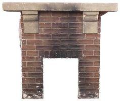 Cómo calafatear las grietas en las paredes de una chimenea