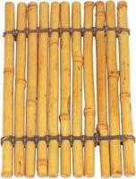 Piezas y usos del árbol de bambú