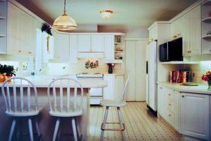Ideas para la Cómo decorar con un techo de la cocina muy alto