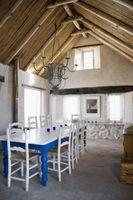 Las buenas sillas para una mesa de granja