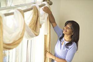 Cómo instalar las bufandas de ventana