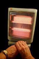 Diferencia entre la cerámica y azul Calentadores de llama