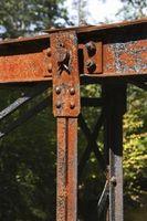Lo Metales Rust más rápido en agua dulce?