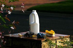 El suelo puede ser esterilizado con lejía de cloro?