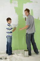 Los problemas de la pintura: Formación de ampollas y la peladura en las paredes recién pintadas