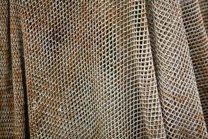 La instalación de alambre de malla