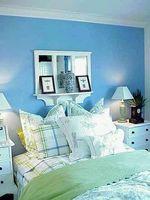 Cómo decorar un dormitorio azul