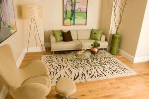 Cómo poner alfombras en un piso de madera