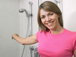 Cómo instalar la ducha de una sola pieza