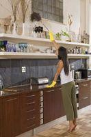 Organizado limpieza de bricolaje Casa