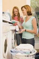Cómo lavar con detergente
