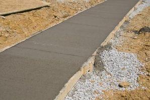 Cómo calcular la cantidad de yardas en hormigón o de tierra necesaria