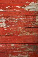 ¿Cómo hacer madera pintada mirada sucia