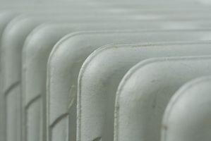 Cómo purgar el aire caliente en radiadores de agua del radiador Sin Válvulas