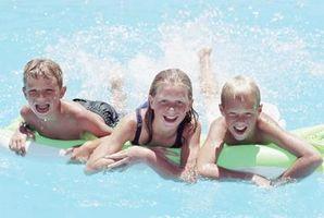 Niveles altos de nitrógeno en las piscinas