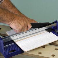 Cómo cortar un azulejo en forma de octágono