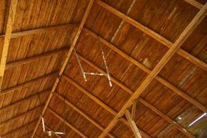 Cómo hacer vigas del techo falso