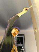 Herramientas de pintura de techo