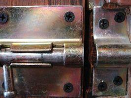 Tipos de cerraduras de puerta de UPVC