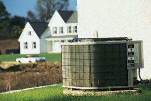 Resistencia de un acondicionador de aire típico