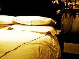 Cómo limpiar un cojín de colchón de fibra de poliéster