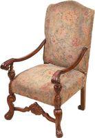La comparación de roble y muebles de caoba