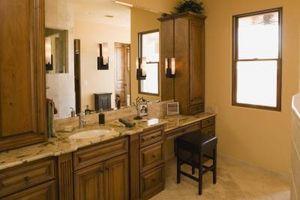 Granito vs cuarzo para encimeras de baños